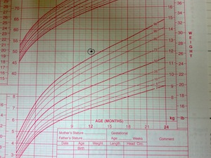 A twelve-month old boy would measure cm in length, while a twelve-month-old girl will measure cm in length. Weight chart for babies under one year Weight chart for babies also indicates a general weight gain pattern over a month or a quarter year.